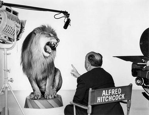 MGM lion hitchcock