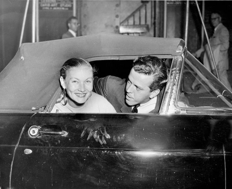 Veronica Lake and Joe McCarthy
