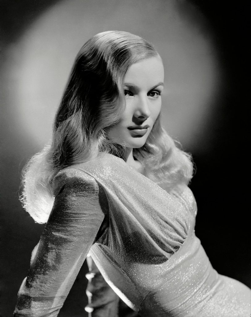 Veronica lake in her Hollywood heyday