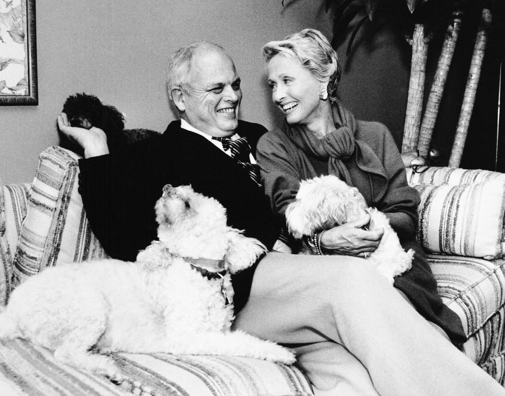 Jane Powell and Dick Moore