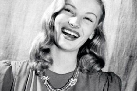 Veronica Lake laughing